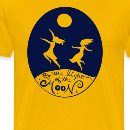 By the light of the moon - Men's Premium T-Shirt