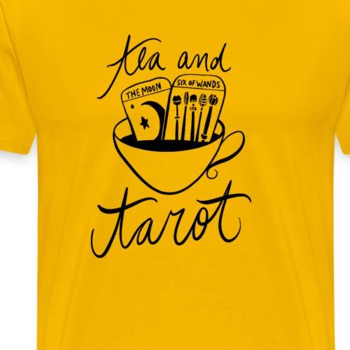 tea and tarot - Men's Premium T-Shirt