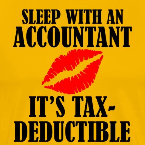 tax deductible copy - Men's Premium T-Shirt