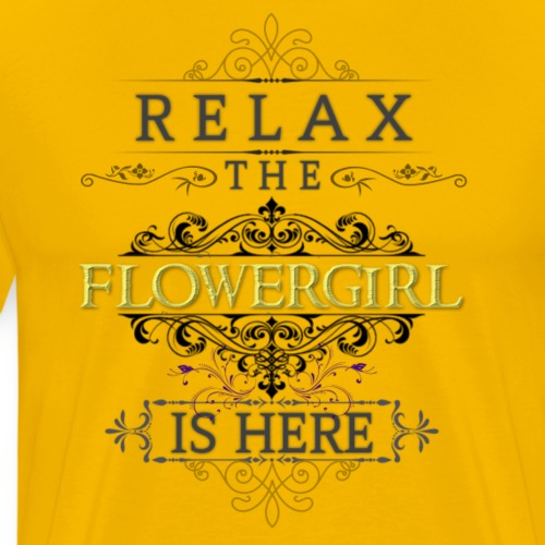 Flower Girl - Men's Premium T-Shirt