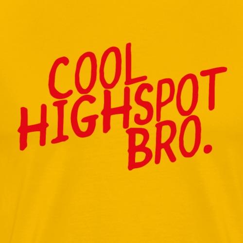 COOL HIGHSPOT - Men's Premium T-Shirt