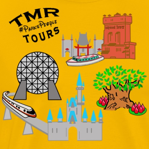 4 Parks TMR Tours - Men's Premium T-Shirt