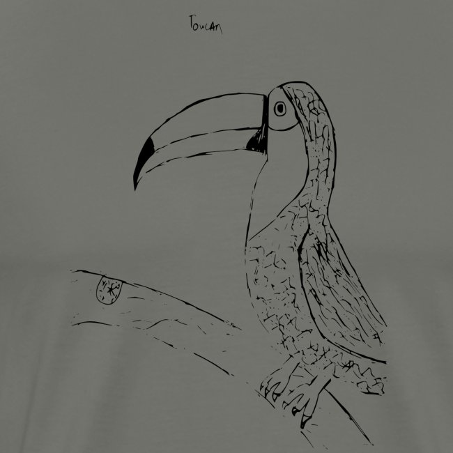 Stephen's hand drawn Toucan