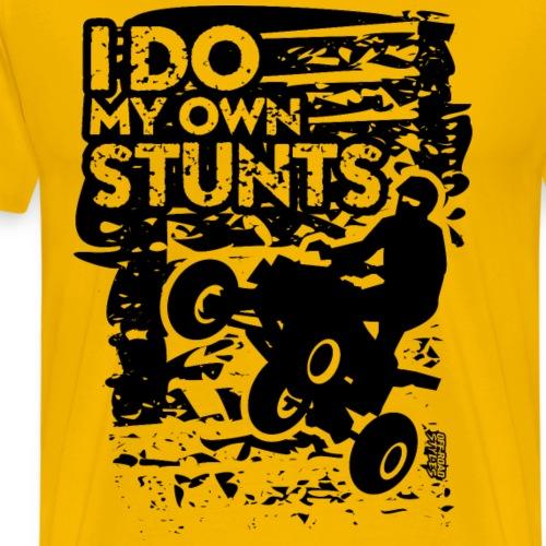 ATV Quad My Own Stunts - Men's Premium T-Shirt