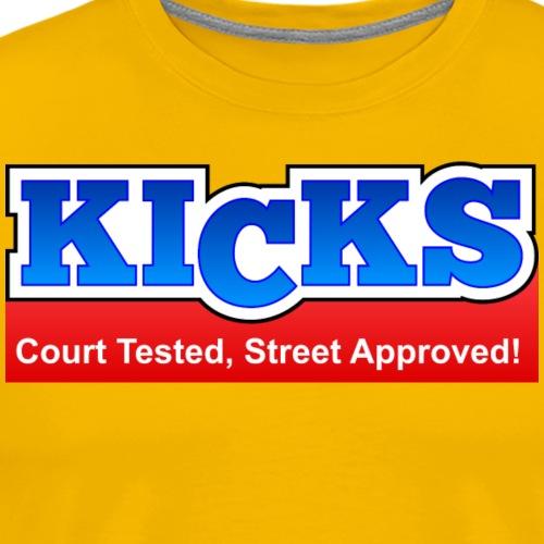 KICKS - Men's Premium T-Shirt