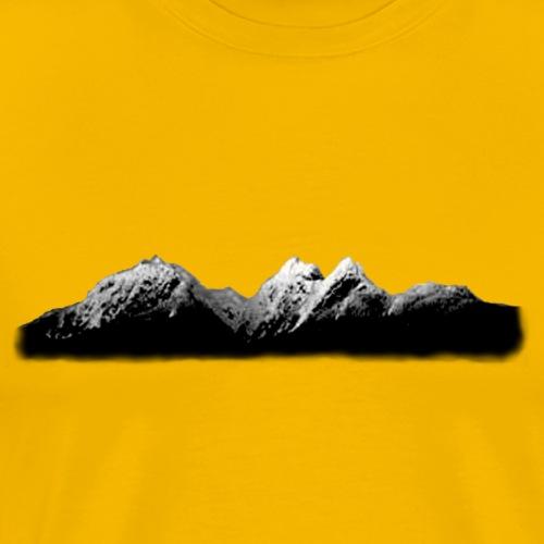 Mountain Skyscape - Men's Premium T-Shirt