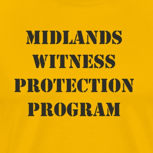 Midlands Witness Protection Program - Men's Premium T-Shirt