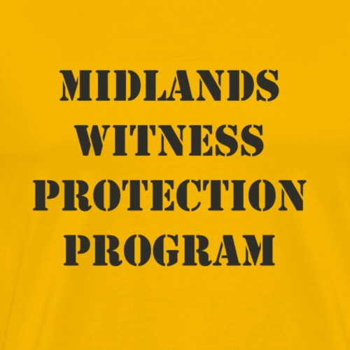 Midlands Witness Protection Program - Men's Premium T-Shirt