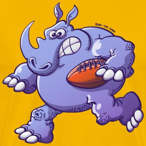 Olympic Rugby Rhinoceros - Men's Premium T-Shirt