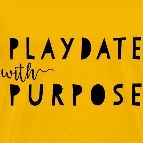 Playdate with Purpose - Men's Premium T-Shirt