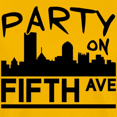 Party on Fifth Ave - Men's Premium T-Shirt