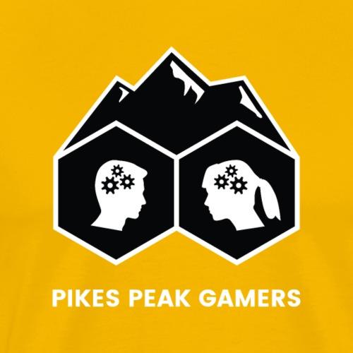 Pikes Peak Gamers Logo (Solid Black)
