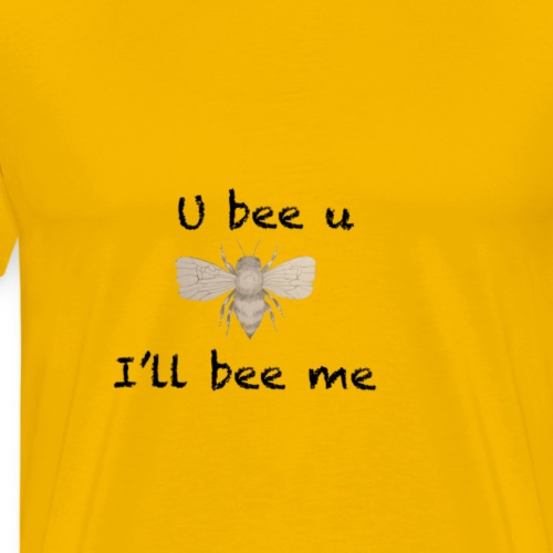 U bee u - Men's Premium T-Shirt