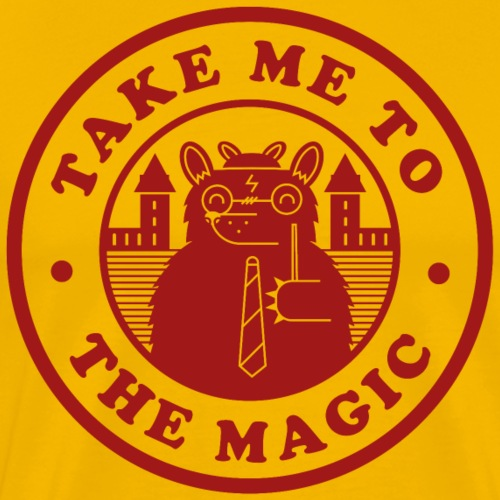Take Me To The Magic Griff png - Men's Premium T-Shirt
