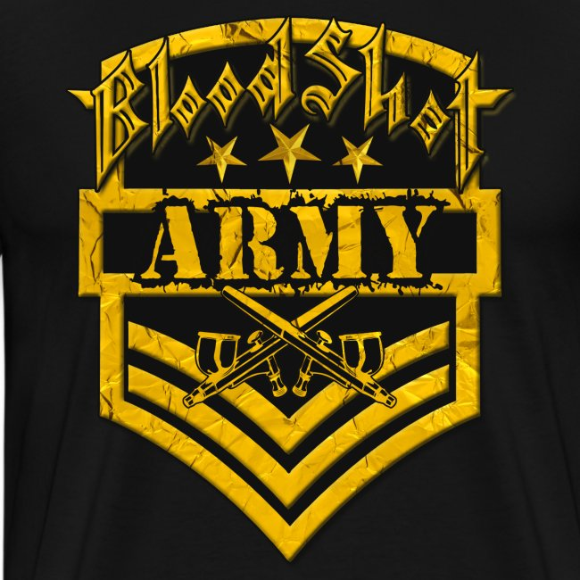 BloodShot ARMYLogo Gold /Black