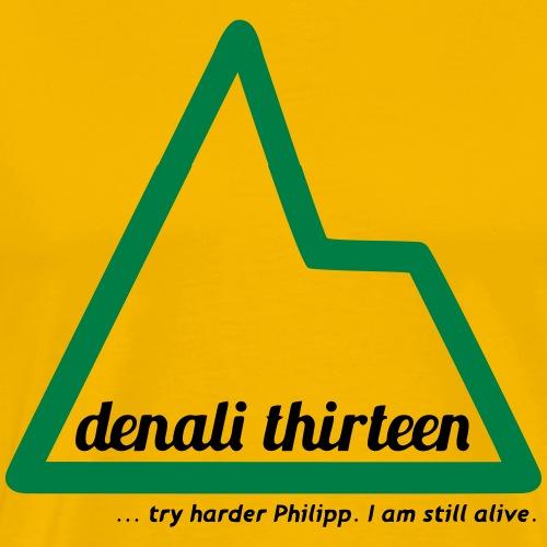 Denali 13 - Men's Premium T-Shirt