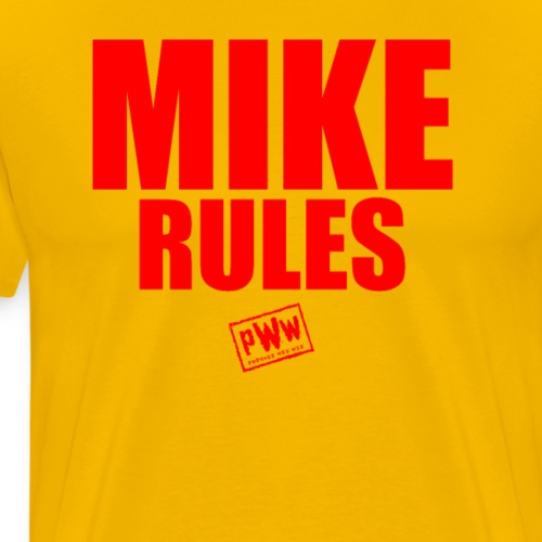 Mike Rules - Men's Premium T-Shirt
