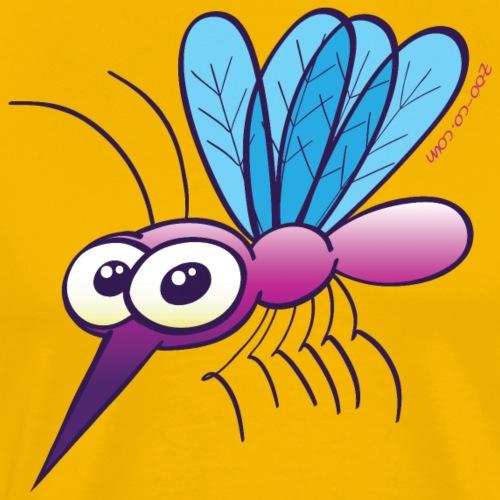 Cute Purple Mosquito - Men's Premium T-Shirt