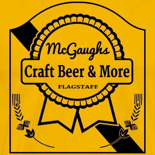 McGaughs Blue Ribbon - Men's Premium T-Shirt