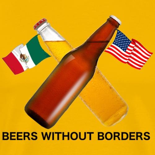 Beers Without Borders - Men's Premium T-Shirt
