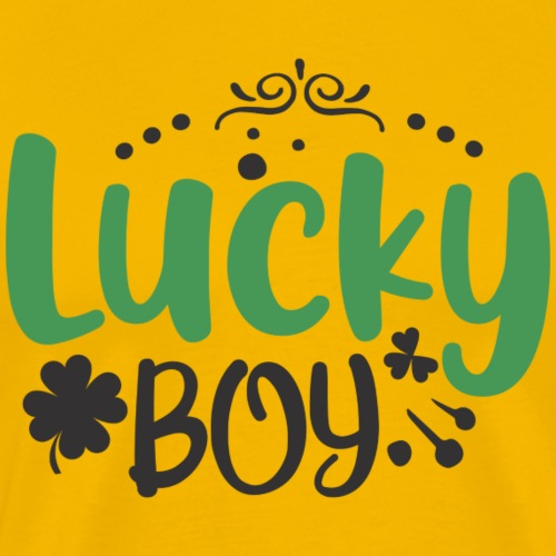 one Lucky boy - Men's Premium T-Shirt
