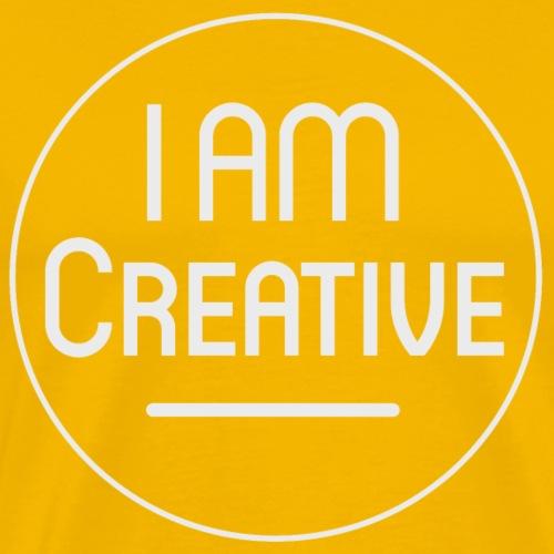 I AM Creative Affirmation T-Shirt - Men's Premium T-Shirt