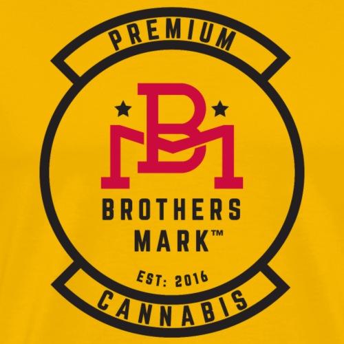 Blue Brothers Mark Logo - Men's Premium T-Shirt