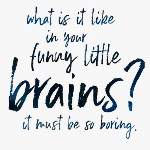 Funny Little Brains - Men's Premium T-Shirt