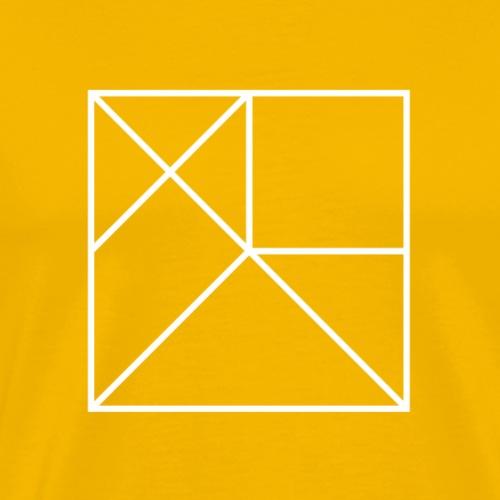 Fraction on Front - Men's Premium T-Shirt