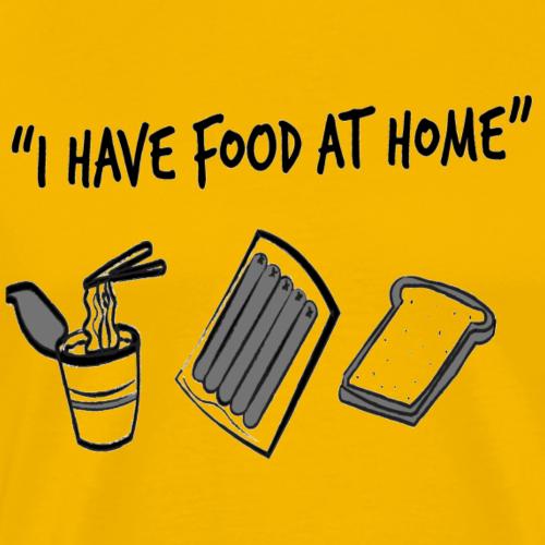 Food AT Home - Men's Premium T-Shirt