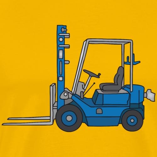 Fork-lift truck - Men's Premium T-Shirt