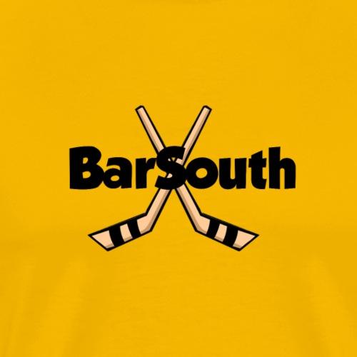 barsouth_two_sticks - Men's Premium T-Shirt