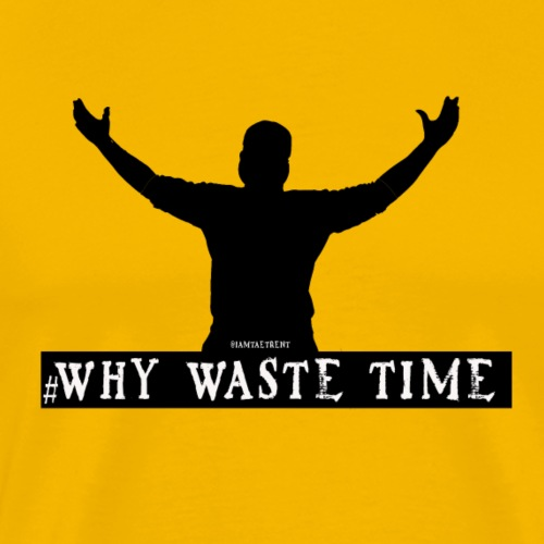 Why Waste Time 1 - Men's Premium T-Shirt