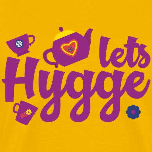 Lets Hygge - Men's Premium T-Shirt
