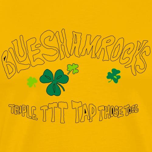 theBlueShamrocks Album TTT White - Men's Premium T-Shirt