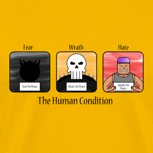 The_Human_Condition - Men's Premium T-Shirt