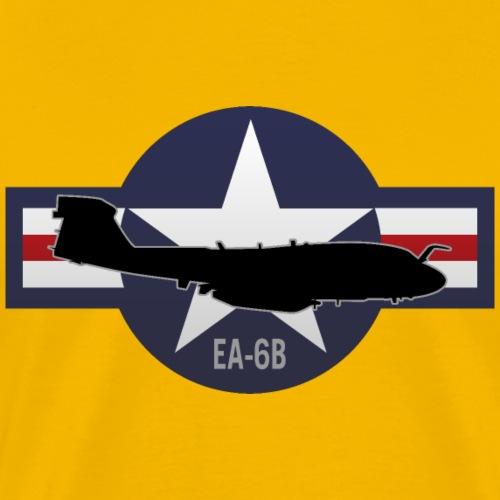 EA-6B Prowler Military Airplane - Men's Premium T-Shirt