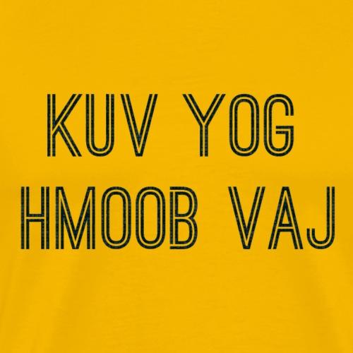Hmoob Vaj - Men's Premium T-Shirt