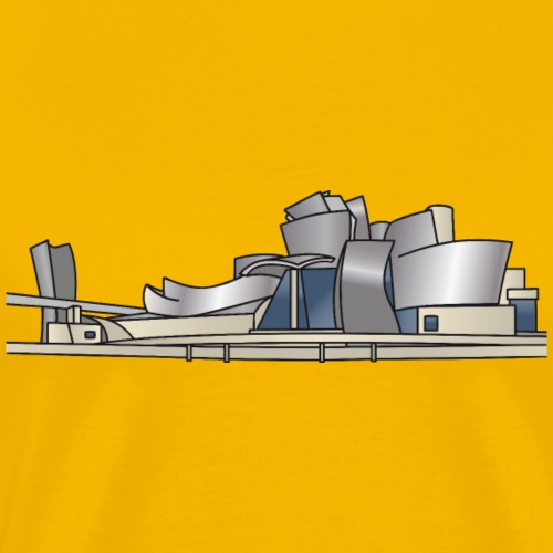 Guggenheim Museum of Bilbao, Spain - Men's Premium T-Shirt