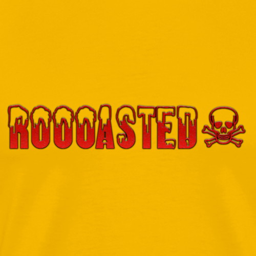 ROOOASTED logo - Men's Premium T-Shirt