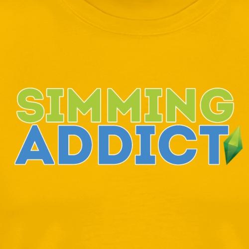 Sims Addict #2 - Men's Premium T-Shirt