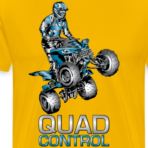 Quad Control Yamaha - Men's Premium T-Shirt