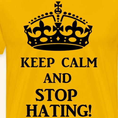 stoph8ingblk - Men's Premium T-Shirt