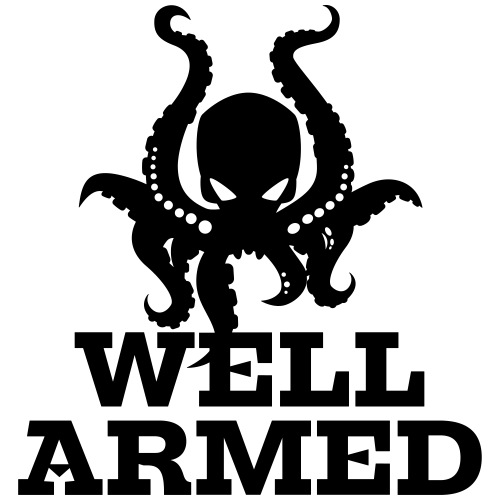Well Armed Octopus - Men's Premium T-Shirt