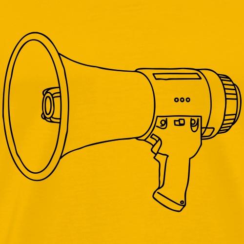 Megaphone bullhorn - Men's Premium T-Shirt