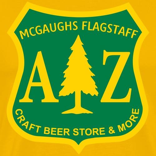 MCGAUGHS FLAGSTAFF Department of Beer-Culture II - Men's Premium T-Shirt