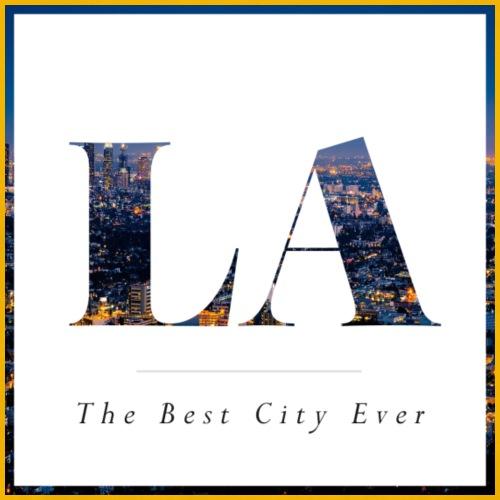 LA- Los Angeles- The best city ever - Men's Premium T-Shirt