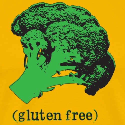 BROCCOLI (gluten free) - Men's Premium T-Shirt