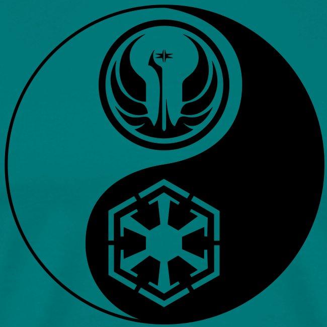 Star Wars SWTOR Yin Yang 1-Color Dark