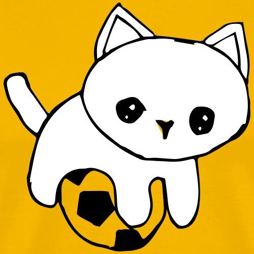 Soccer Kitty - Men's Premium T-Shirt